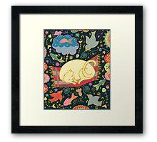 Cat Dreams Framed Print