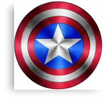 Captain America Shield 2 Canvas Print