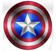 Captain America Shield 2 Poster