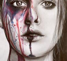 Colour Face  Sticker