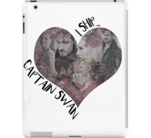 Captain Swan: Emma x Hook iPad Case/Skin