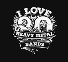 I love 80s Heavy Metal Bands Unisex T-Shirt