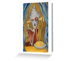 Noodles Greeting Card