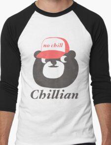 no chill bear Men's Baseball ¾ T-Shirt