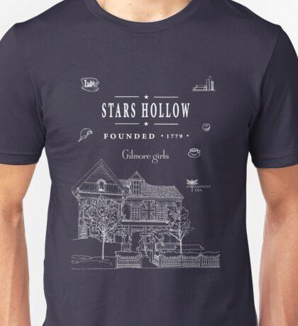 Stars Hollow Collage Unisex T-Shirt