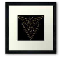°GEEK° Team Instinct Neon Logo Framed Print