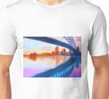 opera house harbour bridge - purple sunset  Unisex T-Shirt
