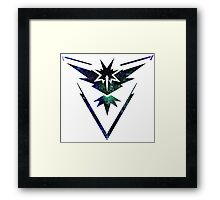 °GEEK° Team Instinct Space Logo Framed Print