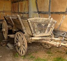 Wagon and Chicken by Kenneth Hoffman