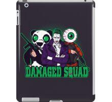 Damaged Squad iPad Case/Skin