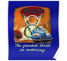 The Greatest Thrill In Motoring  Poster