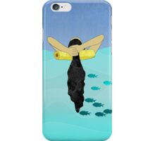 Floating Your Cares Away iPhone Case/Skin