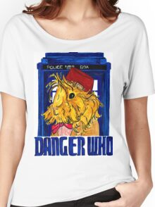 Danger Who, the Eleventh Guinea Pig Doctor Women's Relaxed Fit T-Shirt