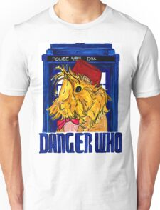 Danger Who, the Eleventh Guinea Pig Doctor Unisex T-Shirt