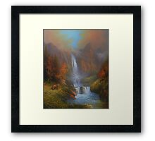 Yosemite A Family Outing Framed Print