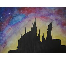 Hogwarts Hufflepuff Photographic Print