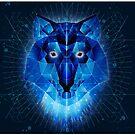 Ice Wolf by beanarts