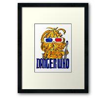 Danger Who, the Tenth Guinea Pig Doctor Framed Print