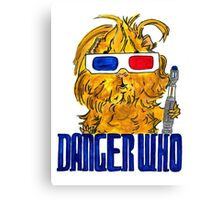 Danger Who, the Tenth Guinea Pig Doctor Canvas Print