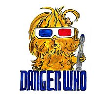 Danger Who, the Tenth Guinea Pig Doctor Photographic Print