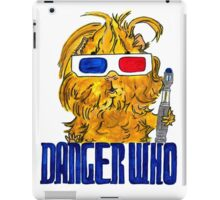 Danger Who, the Tenth Guinea Pig Doctor iPad Case/Skin