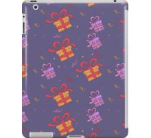 Happy Birthday Seamless Pattern with Presents for Children Party iPad Case/Skin