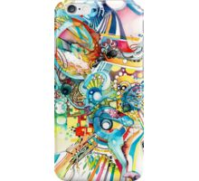Unlimited Curiosity - Watercolor + Pen Art iPhone Case/Skin