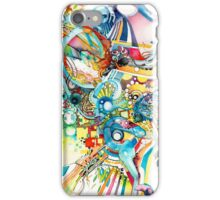 Unlimited Curiosity - Watercolor and Felt Pen iPhone Case/Skin