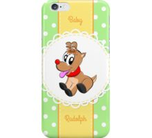 Baby Rudolph iPhone Case/Skin
