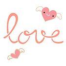 Love and hearts by IamJane--
