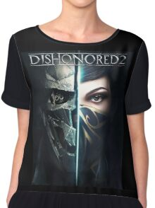 Dishonored 2 : Action-adventure Game 2016 Chiffon Top