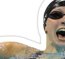 Katie Ledecky Sticker