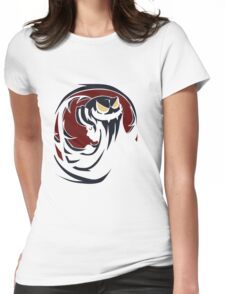 Gonna get hairy Womens Fitted T-Shirt