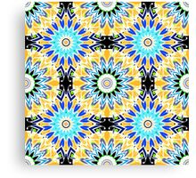 The ornament colorful . Graphics . Canvas Print