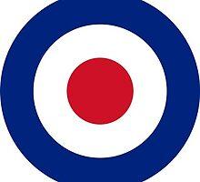 RAF Roundel by Tez Watson