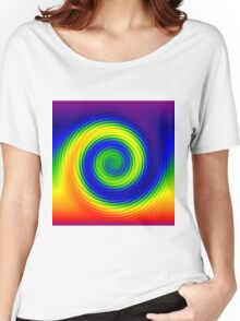 Rainbowdrop Women's Relaxed Fit T-Shirt