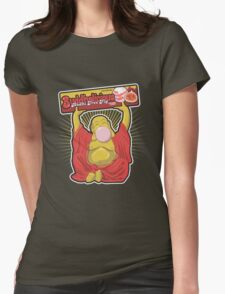 Buddhalicious Womens Fitted T-Shirt