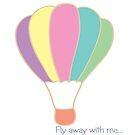 Hot air balloon by IamJane--