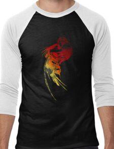 Final Fantasy VIII logo grunge Men's Baseball ¾ T-Shirt
