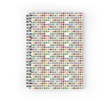 the icons of civilisation Spiral Notebook