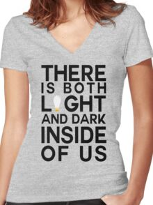 Sirius Black Quote Women's Fitted V-Neck T-Shirt