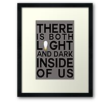 Sirius Black Quote Framed Print