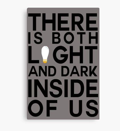 Sirius Black Quote Canvas Print