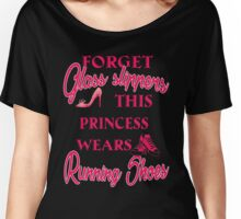 Princess wears running shoes Women's Relaxed Fit T-Shirt