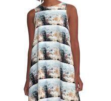 RISE ABOVE #5 A-Line Dress