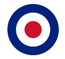 Large Roundel by Tez Watson