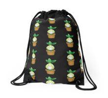 Potted Petilil Drawstring Bag