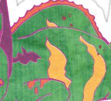 Funky Chameleon Sticker