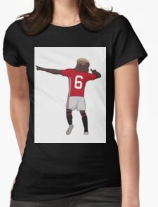 Pogba DAB!!!! Womens Fitted T-Shirt
