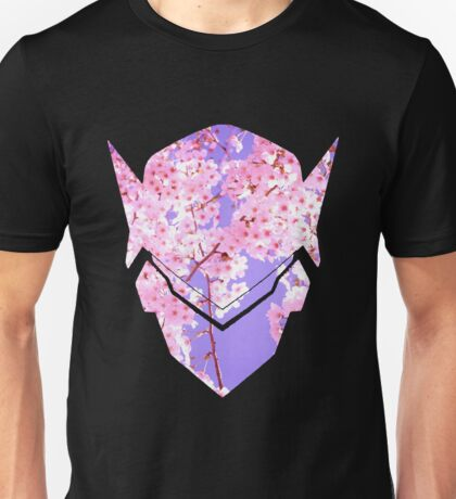 Genji Sakura Spray Unisex T-Shirt